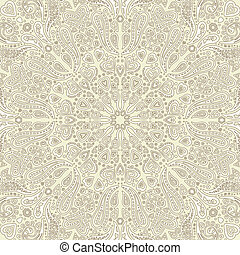 Ornate background texture with hearts and paisley