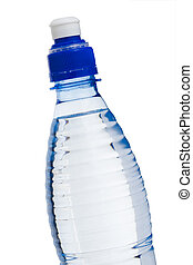 Water bottle - Isolated water bottle over white background