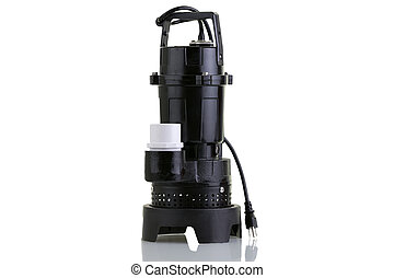 New sump pump - Brand new sump pump for suctioning collected...
