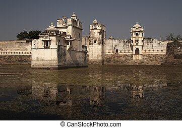 Rajput Palace - Padminis Palace Late 13th Century Rajput...
