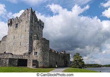 Ross Castle in Killarney, County Kerry, Ireland