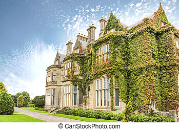 Muckross House south of Killarney, in the Killarney National...