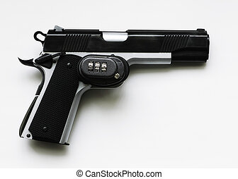 Automatic .45 With Trigger Lock