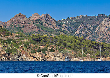 Elba Island - The coast of Elba Island. Tuscany, Italy