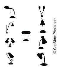retro gooseneck lamps