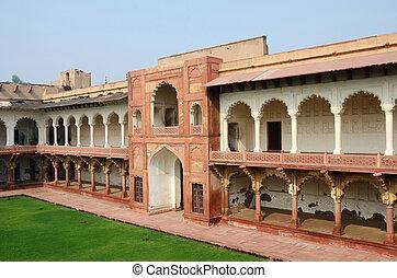 Agra fort,unesco heritage,India