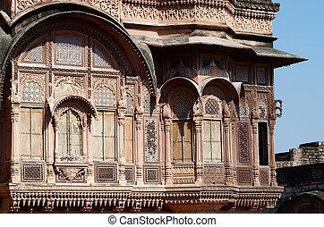 Zenana Deodi,Mehrangarh fort,India