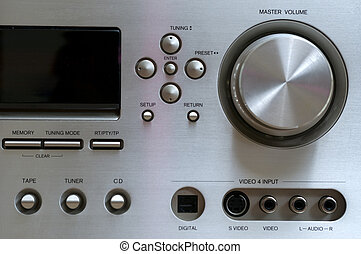 Volume control of home cinema system