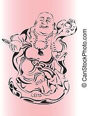 Buddha - Fat happy Buddha