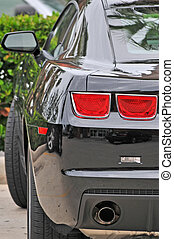 Tail Light - Rear Light Of A Luxury Sports Car
