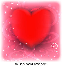 red heart, Valentines Day