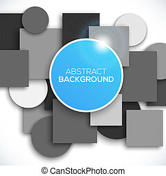 Abstract 3D geometric background Vector illustration for...