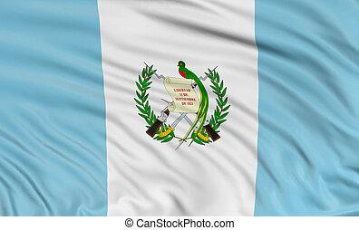 3D, guatemala, bandera