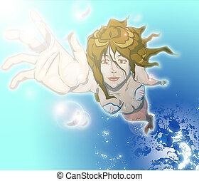 Mermaid - This is Mermaid image.