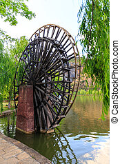 Water Wheel - Ancient water wheel no longer in use