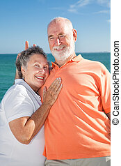 Senior Couple - Rabbit Ears