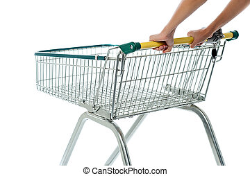 Empty shopping cart, add to cart - Shopping cart, e-commerce...