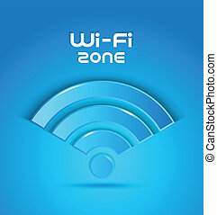 3d icon wi fi zone