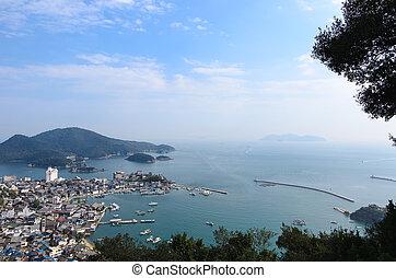 Landscape of Tomonoura (in Fukuyama City, Hiroshima...