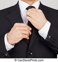 Making business look good. Cropped image of senior man in...