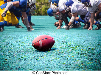 rugby, American football - ball rugby, American football,...
