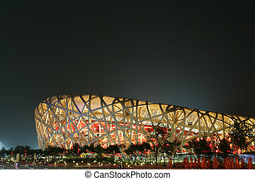 Beijing National Stadium - The Beijing National Stadium also...
