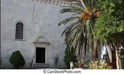 Monastery Savina, Montenegro, tilt up