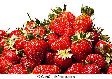 rojo, fresas