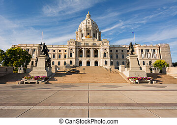 Minnesota Capital - State of Minnesota Capital Building, St...