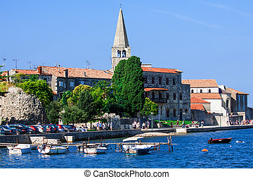 Porec - old Adriatic town in Croatia