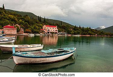 boat - Small fishing boat in Croatian port