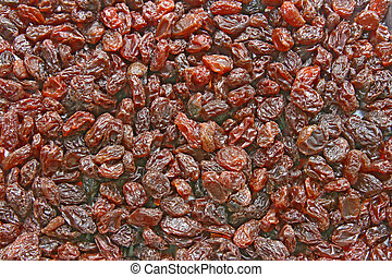 Dry Seedless Raisin, background texture pattern