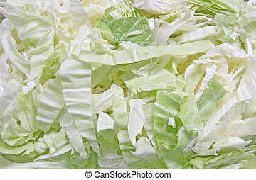 cabbage - Green cabbage using as Background