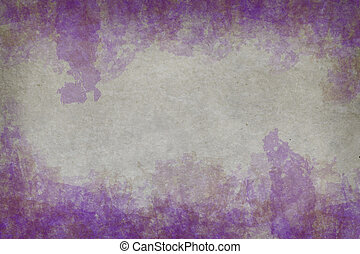 abstract grunge style painted on vintage paper background