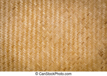 Bamboo Weave background is arts and culture of Asian
