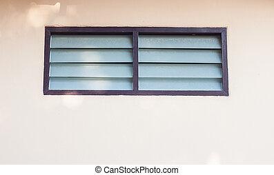 Ventilator frame