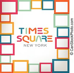 Times Square Vector Theme
