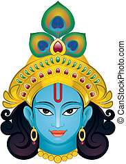 Krishna - Indian Lord Krishna,This is Single layer and very...