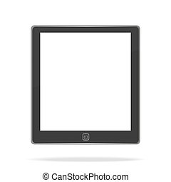 E book on white background