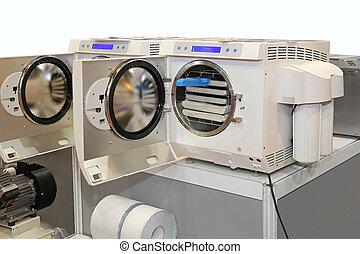 Sterilizer - Modern front loading autoclave sterilization...