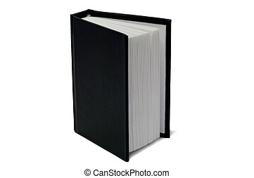 Book with a black cover