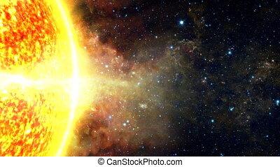 Sun and Solar Flares