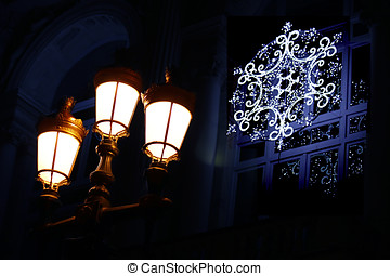light public and christmas