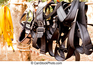 Harness for mountaineering - Mountaineering harness. All...