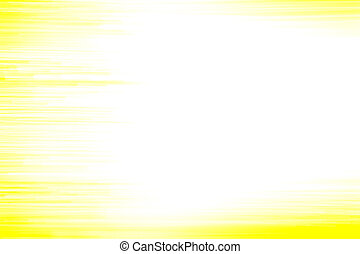 Abstraction on a yellow background...