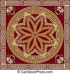 Traditional vintage Greek ornament