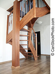 interior stairs wooden