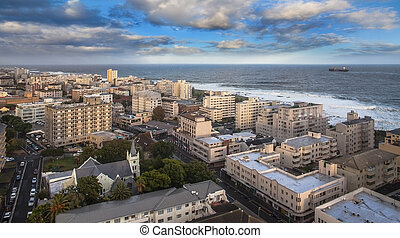 Urban City skyline, Cape Town, South Africa - Cape Town is...