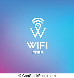 Free wifi symbol for business or commercial use - Free wifi...