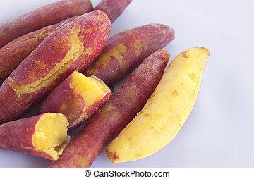 Potato sweet steamed